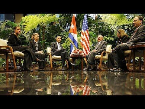 Κούβα – ΗΠΑ: Η νέα εποχή με την επίσκεψη Ομπάμα