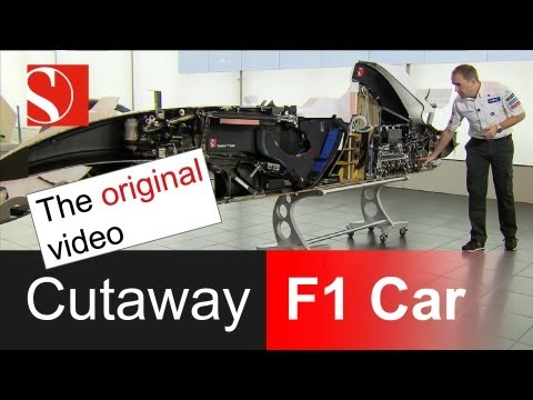 Sauber F1 Team - World Premiere: Cutaway F1 Race Car