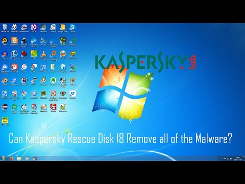 Kaspersky Rescue Disk 18 - Can It Remove All of the Malware?