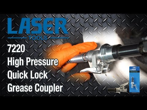 7220 High Pressure Quick Lock Grease Coupler