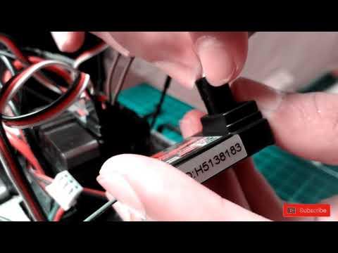 How to link remote flysky FS-GT2
