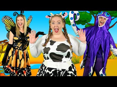 """Alphabet Animals"" - ABC Animals Song for Kids | Learn animals, phonics and the alphabet - Thời lượng: 3 phút, 53 giây."
