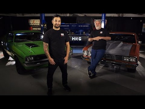 HOT ROD Garage on the Motor Trend Channel