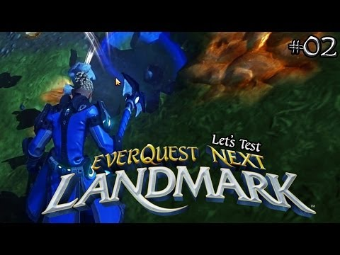 Everquest Next Landmark  #02 ★ Erste Schritte: Grundlagen ★ Let's Voxel Test | HD+ | Deutsch