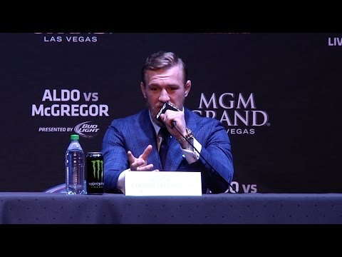 UFC 189 World Championship Tour: New York Press Conference Recap