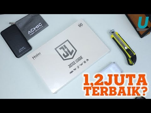 1,2 JUTA Bisa Qualcomm Quickcharge + USB Type-C, Unboxing Haier Leisure L7 Justice League Edition