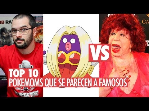 Video: Pokemon que se parecen a famosos