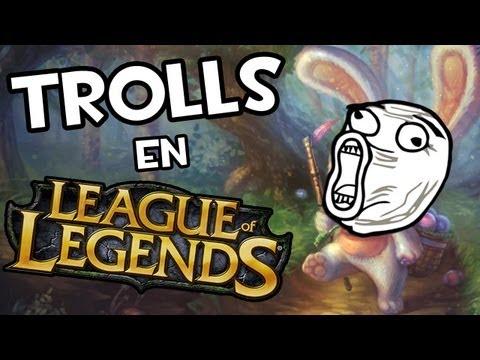 Trolls en League of Legends | OLAF KE ASHE? видео