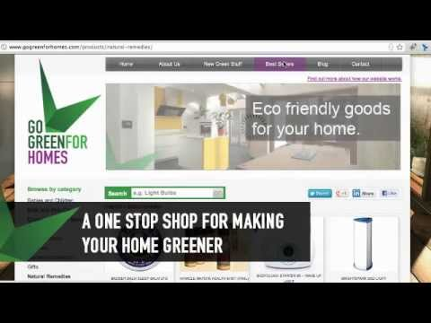 Eco Friendly Products – Go Green For Homes