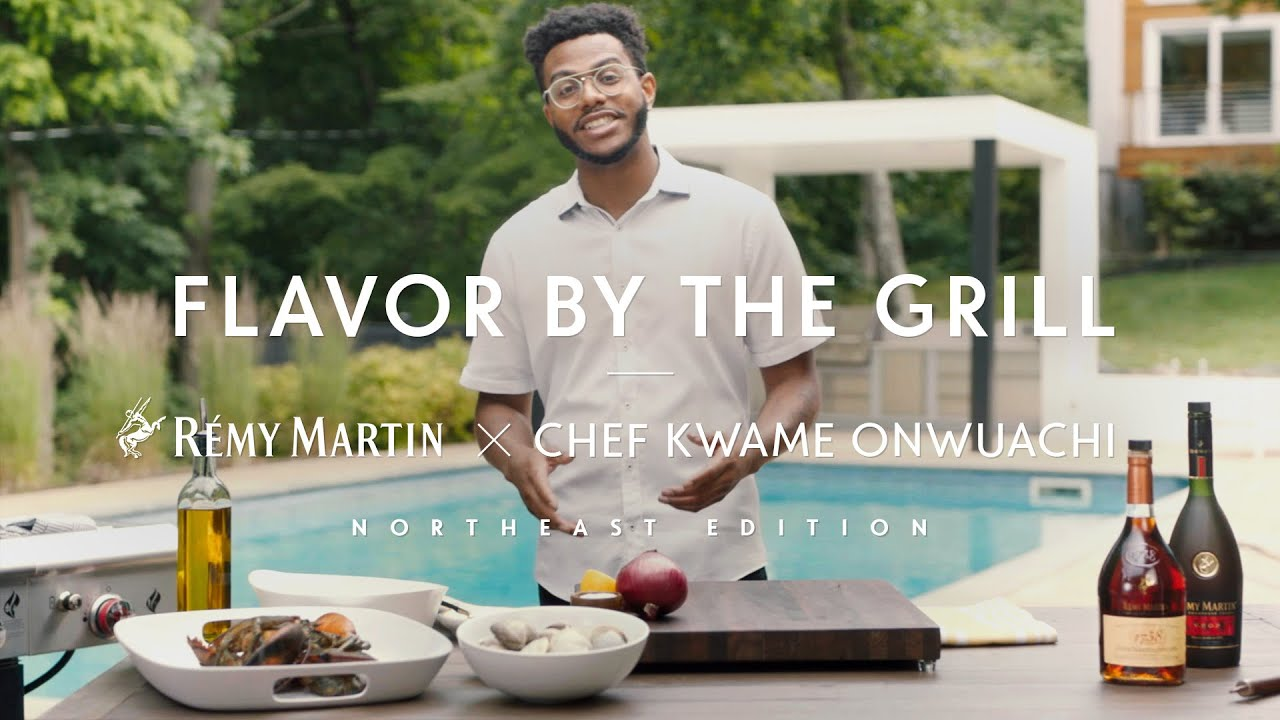 Rémy Martin x chef Kwame Onwuachi | Flavor by the Grill: The Northeast, Lobster with Sauteed Clams
