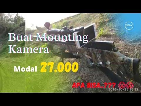 Tutorial membuat dudukan mounting kamera hp pada senapan angin