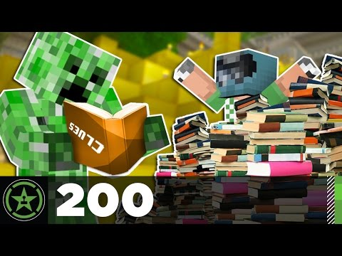 Let's Play Minecraft: Ep. 200 - Super Sleuths (видео)
