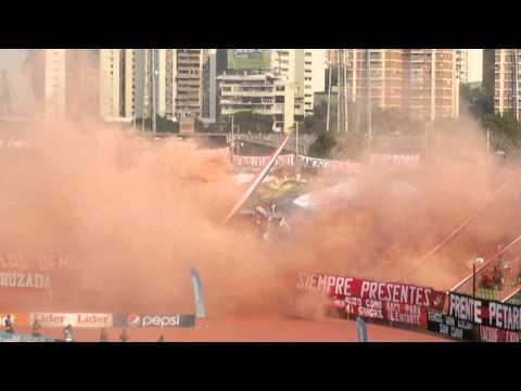 #ClasicoNacional  Barra  del  Caracas  FC - Los Demonios Rojos - Caracas