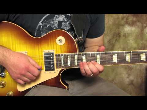Slash - Solo Knocking On Heaven's Door - How to play the first Solo -