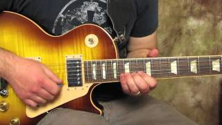 Slash - Style of - Solo Knocking On Heaven's Door - How to play the first Solo -