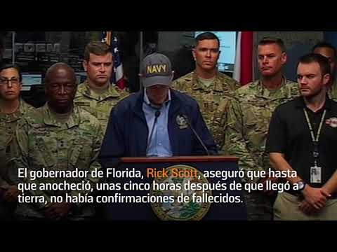 El huracán #Michael dejó un fallecido por su paso en #Florida