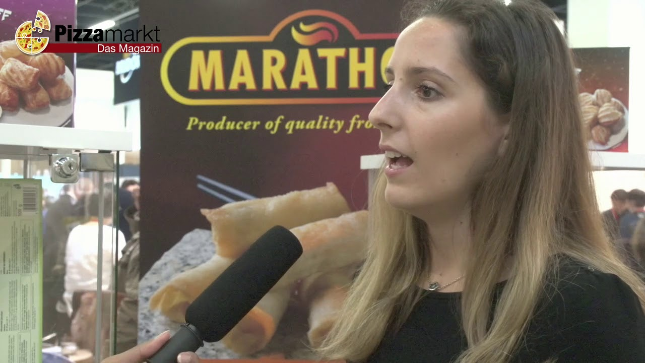 Marathon Food - Anuga 2017 im Interview mit Pizzamarkt