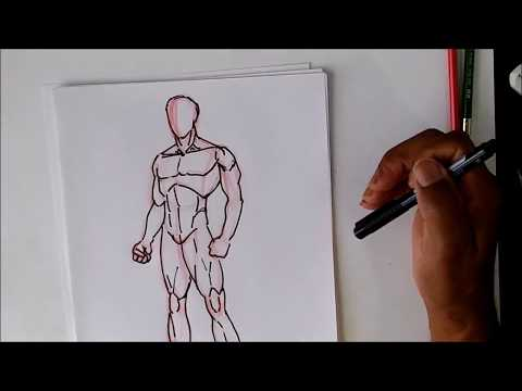 How To Draw The Male Body Oh So SIMPLE