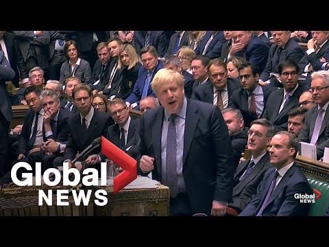 "Video - Brexit: ""Δεν θα διαπραγματευτώ με την ΕΕ την καθυστέρηση"", λέει ο Τζόνσον"