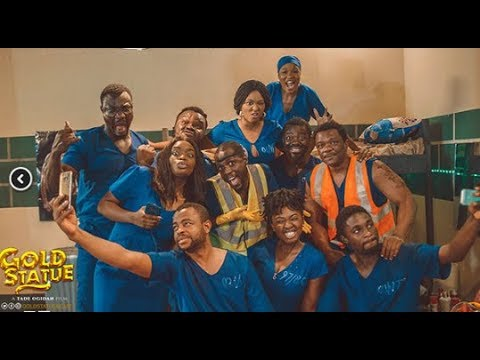 """Highlights From The Press Screening Of """"Gold Statue"""" By Tade Ogidan"""