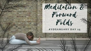 Video DAY 15: MEDITATION & FOWARD FOLDS | Yoganuary Yoga Challenge | CAT MEFFAN MP3, 3GP, MP4, WEBM, AVI, FLV Maret 2018