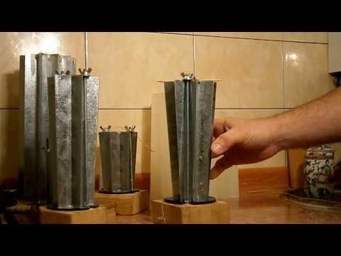 Резная свеча в домашних условиях видео