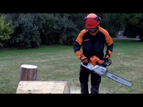 comment regler tronconneuse stihl