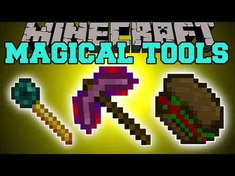 magical - The Magical Tools Mod adds new tools, weapons, & food with magical powers! Enjoy the video? Help me out and share it with your friends! Like my Facebook! http://www.facebook.com/pages/PopularMMOs/...