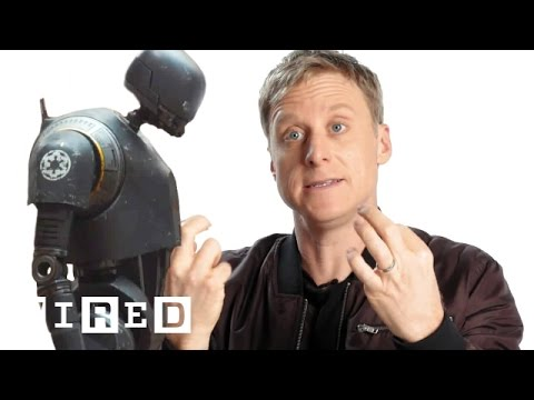 How Alan Tudyk Became the Giant K2SO Droid in Rogue One A Star Wars