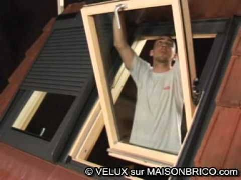 comment reparer un store de velux. Black Bedroom Furniture Sets. Home Design Ideas