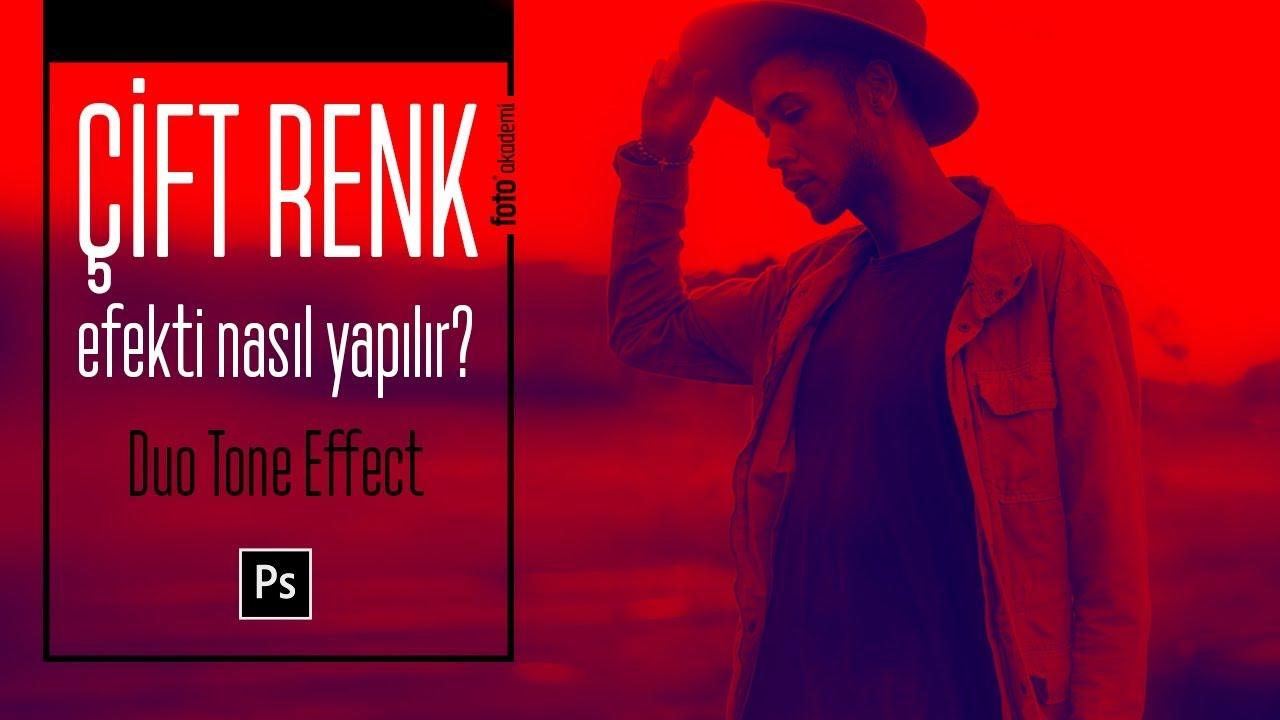 """Etkileyici """"Çift Renk"""" Efekti Nasıl Yapılır? (Photoshop Duo Tone Effect)"""