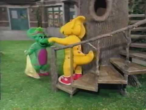 Walk Around the Block with Barney (1999 Version) Part 3