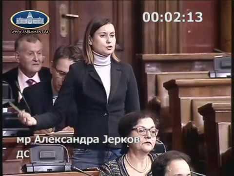 Александра Јерков: Није срамота немати диплому, срамота је купити диплому!
