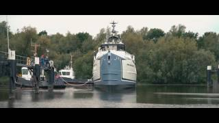 Nonton Launch of NEW FRONTIERS - DAMEN Yacht Support Film Subtitle Indonesia Streaming Movie Download