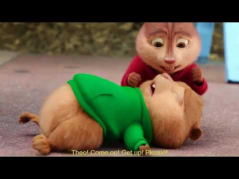 Alvin And The Chipmunks: The Road Chip Theodore Saves Miles Life And Gets Hit By A Car
