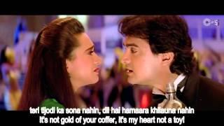 Tere Ishq Mein Naachenge Raja Hindustani with English Subtitles