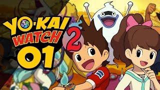 Yo-Kai Watch 2 - Episode 1 | The Vanishing Watch! by Munching Orange