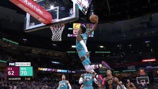 Ja Morant Flies For Tomahawk Alley-Oop Dunk vs. Cavaliers | Grizzlies NBA Highlights