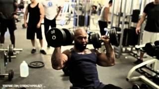 Shoulder Workout with CT Fletcher