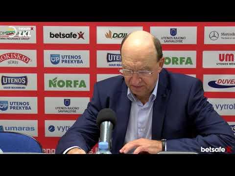 """""""Betsafe–LKL"""" rungtynių komentarai: """"Juventus"""" - """"Dzūkija"""" [2018-11-03]"""
