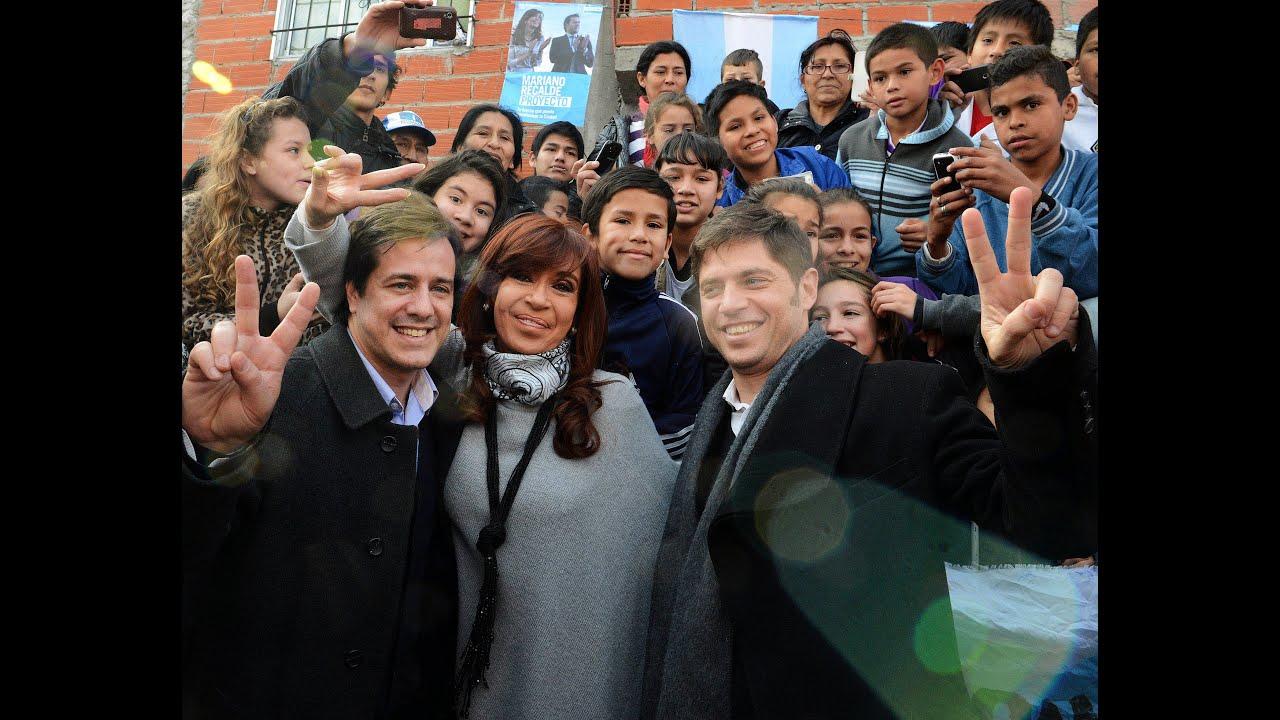 02 de JUL. La Presidenta Cristina Fernández visitó la Villa 20 de Lugano