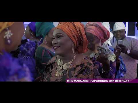 PASUMA ALABI AT MRS MARGARET FAPOHUNDA 60th BIRTHDAY LIVE IN MIAMI  PT 2