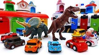 Video Defeat The Dinosaurs With Shooting Cars~! Tobot Tayo Pororo Shooting Car Toy MP3, 3GP, MP4, WEBM, AVI, FLV Juli 2018