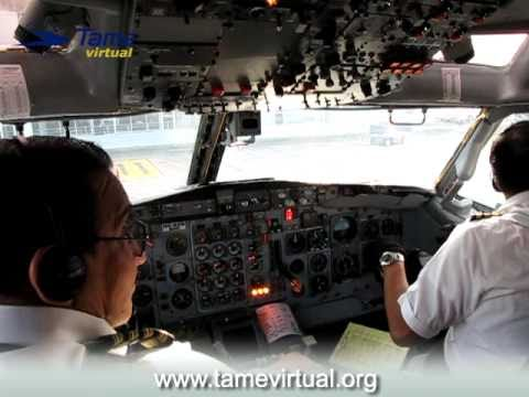 Flight Quito Nueva Loja Ecuador Boeing 727 Tame PART1