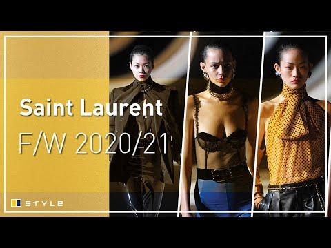 Video - Saint Laurent: Η νέα συλλογή του οίκου παρουσιάστηκε στο Παρίσι