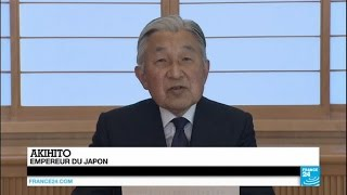 Akihito souhaite quitter son trône - video (1)