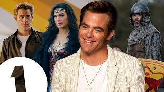 "Video ""I wasn't that surprised!"" Chris Pine on returning for Wonder Woman 2 & revealing all in Outlaw King MP3, 3GP, MP4, WEBM, AVI, FLV November 2018"