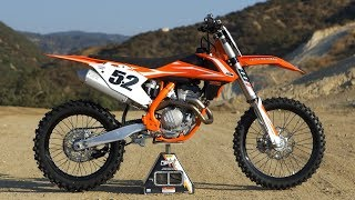 6. First Ride KTM 350SXF - Motocross Action Magazine