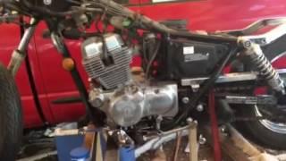 10. 2001 Honda rebel 250  Engine change