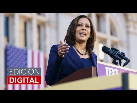 Kamala Harris retira su candidatura para la nominación presidencial del Partido Demócrata